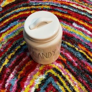 Rae Dunn Candy Large Canister